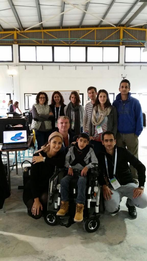 The Food to Go team – Top from left: Dana Cappel, Ariel Simon, Eszter Kollar, Asaf, Hasid, Noa Nitzan, Omer Nitzan Bottom from left: Laura Marciano, Eli Michaeli, Ely Marciano, Franck Marciano
