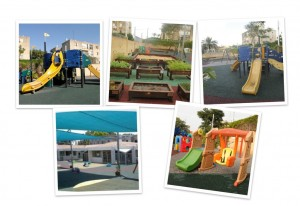 updated collage - playground