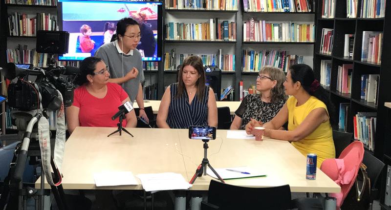 CCTV China Live Blog