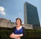 Jean Judes speaks on UN Panel for International Women's Day